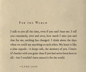 Lang Leav and poem image