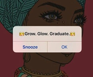 glow, graduate, and grow image
