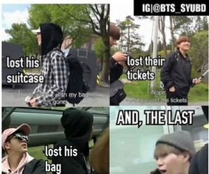 meme, bts, and funny image