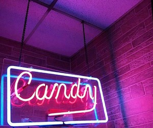 pink, candy, and neon image