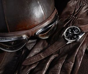 aviator, gloves, and leather image