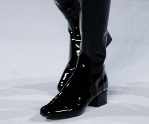 boots and saint laurent image