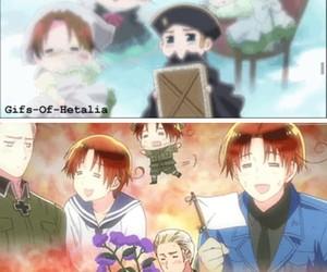 anime, chibitalia, and funny image