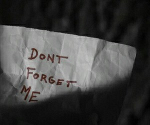 quotes, forget, and sad image