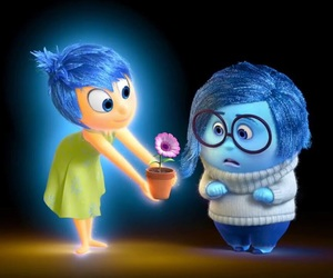 inside out, disney, and joy image