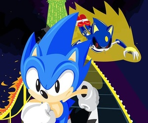 Sonic the hedgehog and sonic cd image