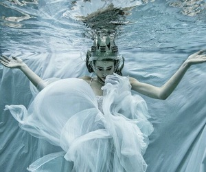 Queen, water, and fantasy image