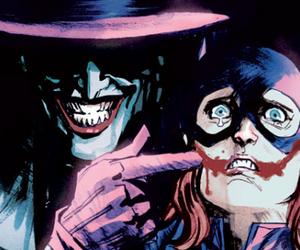 joker, batgirl, and comic image