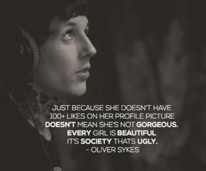 oliver sykes, bring me the horizon, and quote image