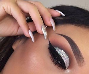 beauty, girls, and eyes image