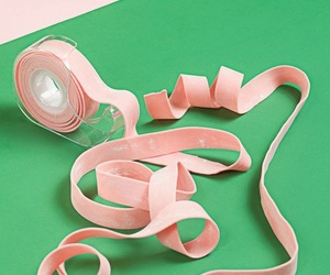 gum, pink, and bubble gum image