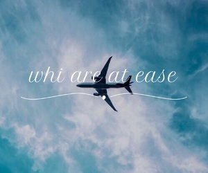 ease, plane, and we heart it image