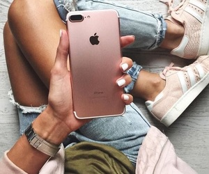 iphone, outfit, and pink image
