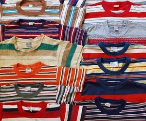 vintage, retro, and stripes image
