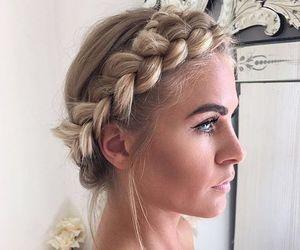 beautiful, sweet, and braid image