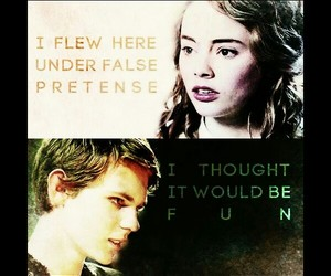 once upon a time, peter pan, and wendy darling image