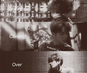 exo, coming over, and byun baekhyun image