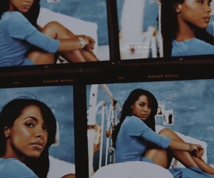 aaliyah and blue image