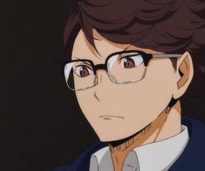 anime, haikyuu, and oikawa tooru image