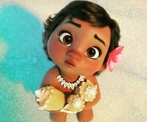 disney, moana, and baby image