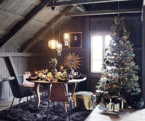 christmas, dark, and home image