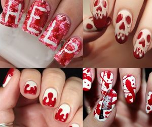 beauty, nails, and nail designs image