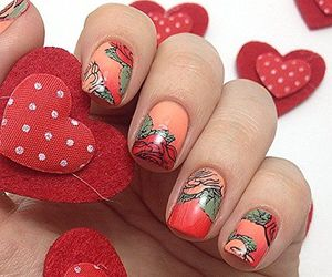 beauty, nail designs, and fun nails image