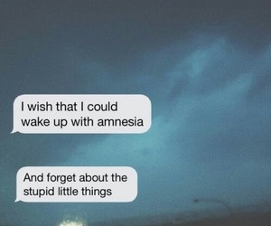 little, things, and amnesia image