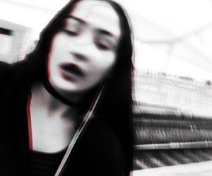 belgium, black hair, and grunge image