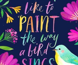 bird, like, and painting image