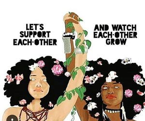support, woman, and feminism image