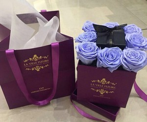 bouquet, roses, and luxury+ image