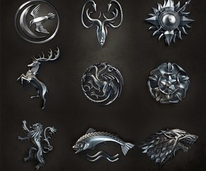 game of thrones and Houses image