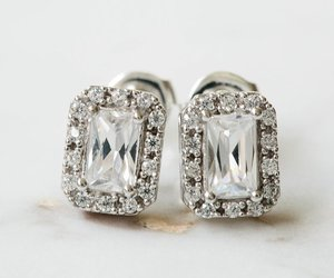 unique earring, stud earrings, and clip on earring image