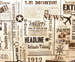 news, newspaper, and texture image