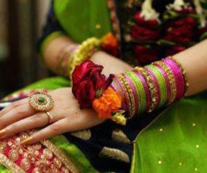 bride, henna, and green image