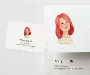 etsy, personalized card, and business card design image