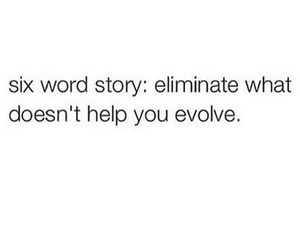 words, evolve, and life image