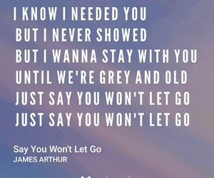 Lyrics, songs, and james arthur image
