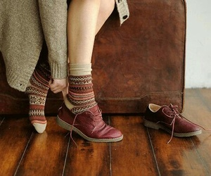 shoes and socks image