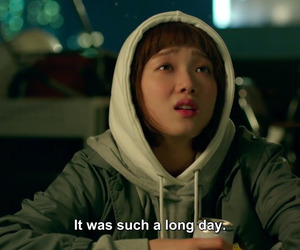 Korean Drama, kdrama, and long day image