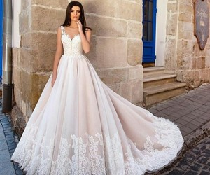 dress, special, and wedding image