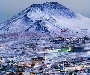 iceland and winter image
