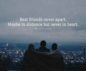 best friend, distance, and bff image