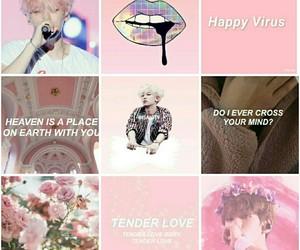 chanbaek, pink, and chanyeol image