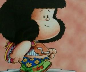 frases, buenos días, and mafalda image