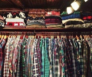 clothes, shirt, and sweater image