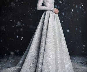 dress and snow image