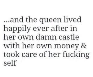 Queen, quotes, and castle image
