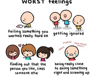 sad, feelings, and worst image